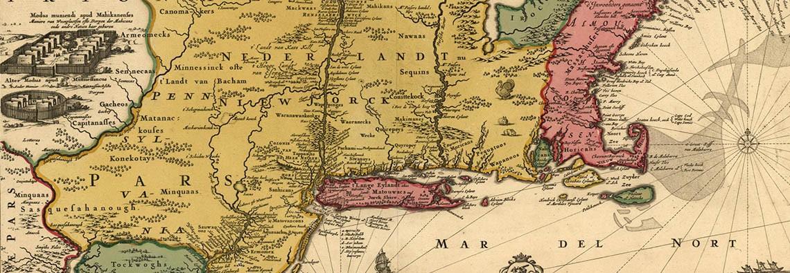 Colonies in 1685