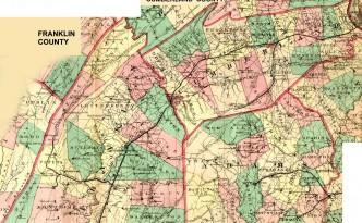1872 Franklin Cumberland Adams in PA