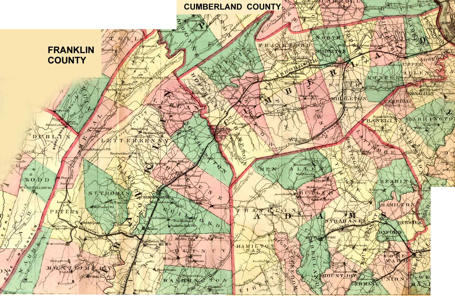 Adams in Cumberland County PA from 1749 to 1820 - Adams