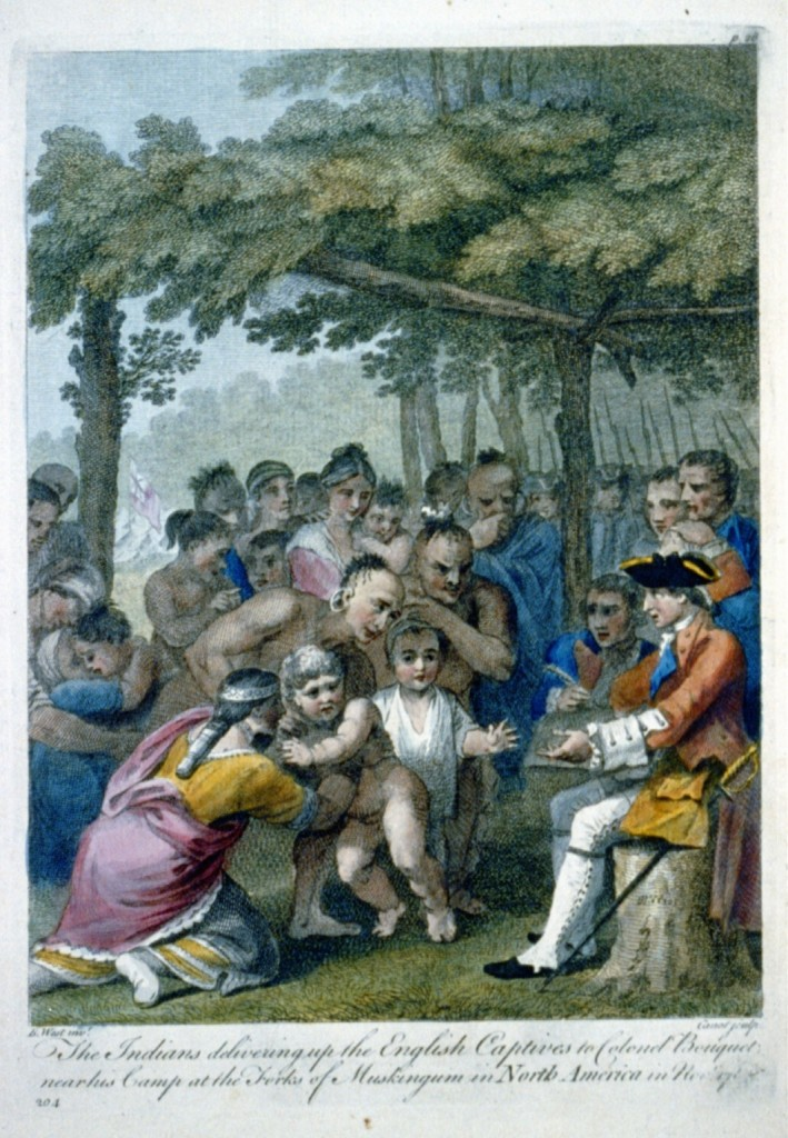 Indians Delivering Captives to Colonel Bouquet