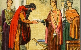 Henry II and Dermot MacMurrough